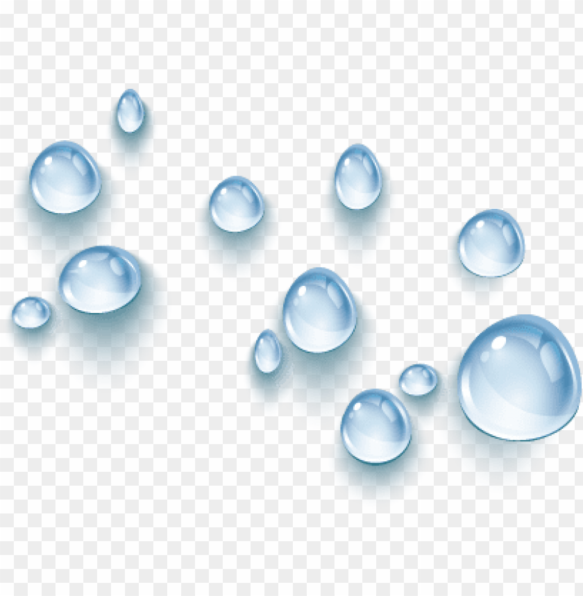 free PNG water-droplets - blue water drops PNG image with transparent background PNG images transparent
