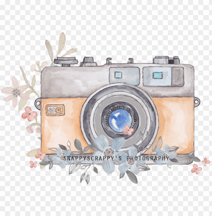 Watercolor Camera Png Watercolor Camera Clipart Png Image With Transparent Background Toppng