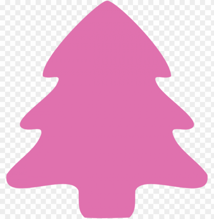free PNG watercolor christmas tree clipart - pink christmas tree clipart PNG image with transparent background PNG images transparent