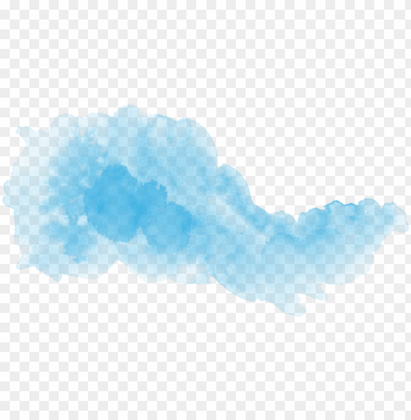 free PNG watercolor clouds, tattoo watercolor, watercolor brushes, - blue watercolor PNG image with transparent background PNG images transparent