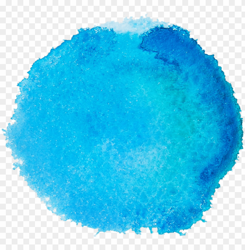 free PNG watercolor effect turquoise PNG image with transparent background PNG images transparent