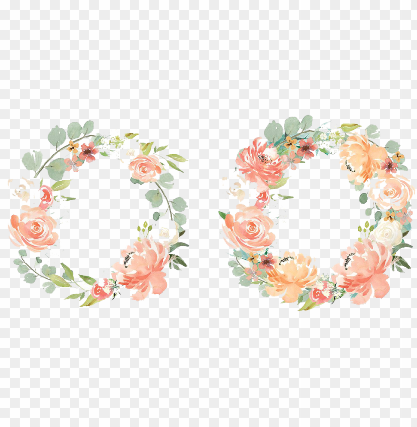 free PNG watercolor flowers set png - watercolor floral free PNG image with transparent background PNG images transparent
