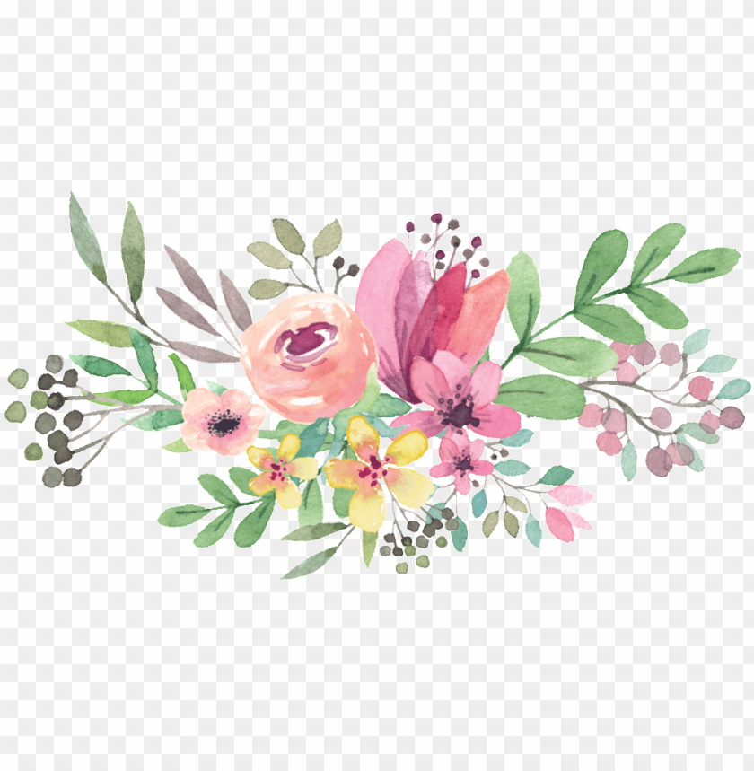 free PNG watercolor flowers vector PNG image with transparent background PNG images transparent