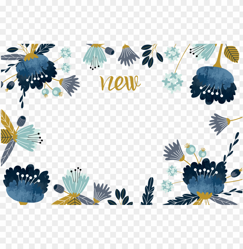 free PNG watercolor painting flower - border background watercolor flowers PNG image with transparent background PNG images transparent