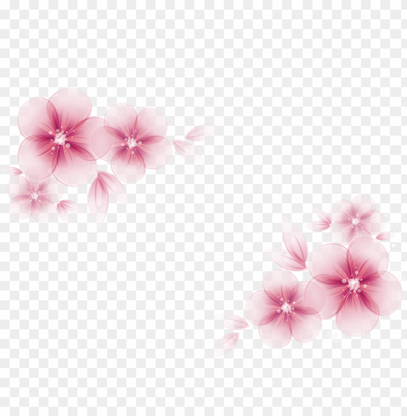 free PNG watercolor painting flower creative watercolor - pink flower vector PNG image with transparent background PNG images transparent