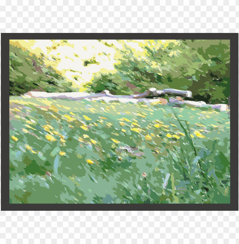free PNG watercolor painting forest common dandelion computer - watercolor painting png - Free PNG Images PNG images transparent
