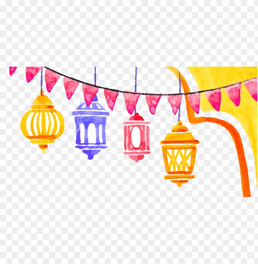 free PNG Download Watercolor Ramadan Kareem png images background PNG images transparent