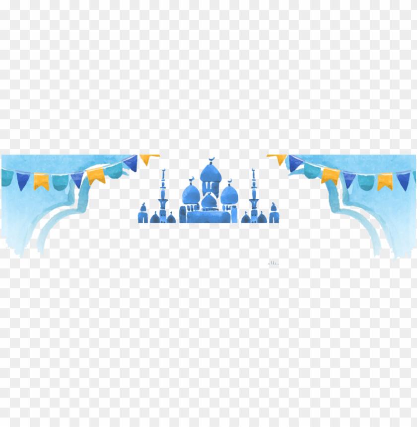 free PNG Download Watercolor Ramadan Mubarak png images background PNG images transparent