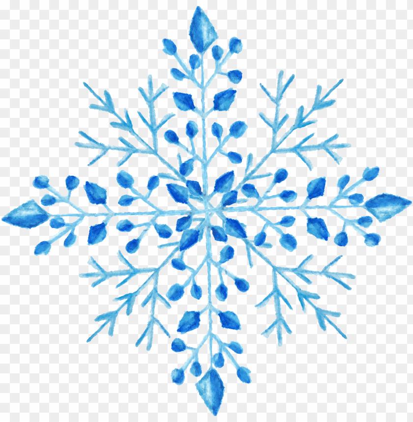 free PNG watercolor snowflake transparent snowflake PNG image with transparent background PNG images transparent