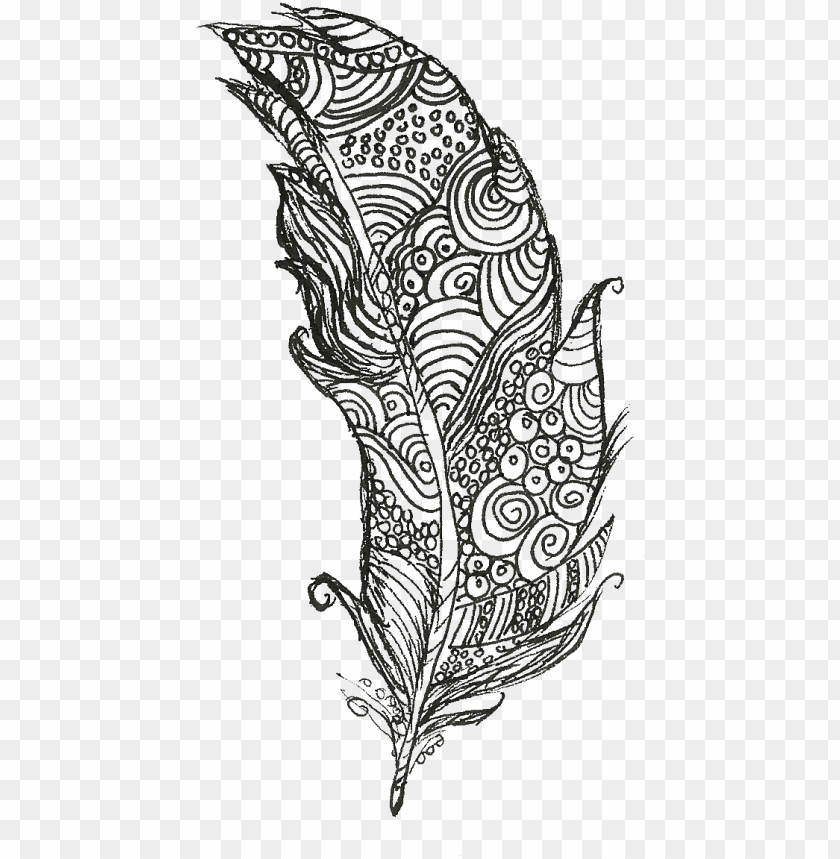 free PNG watercolour doodles feather doodle sisshart - feather doodle PNG image with transparent background PNG images transparent