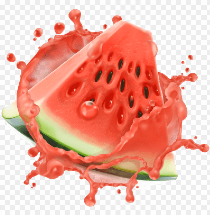 free PNG watermelon sorbet - watermelon juice splash PNG image with transparent background PNG images transparent