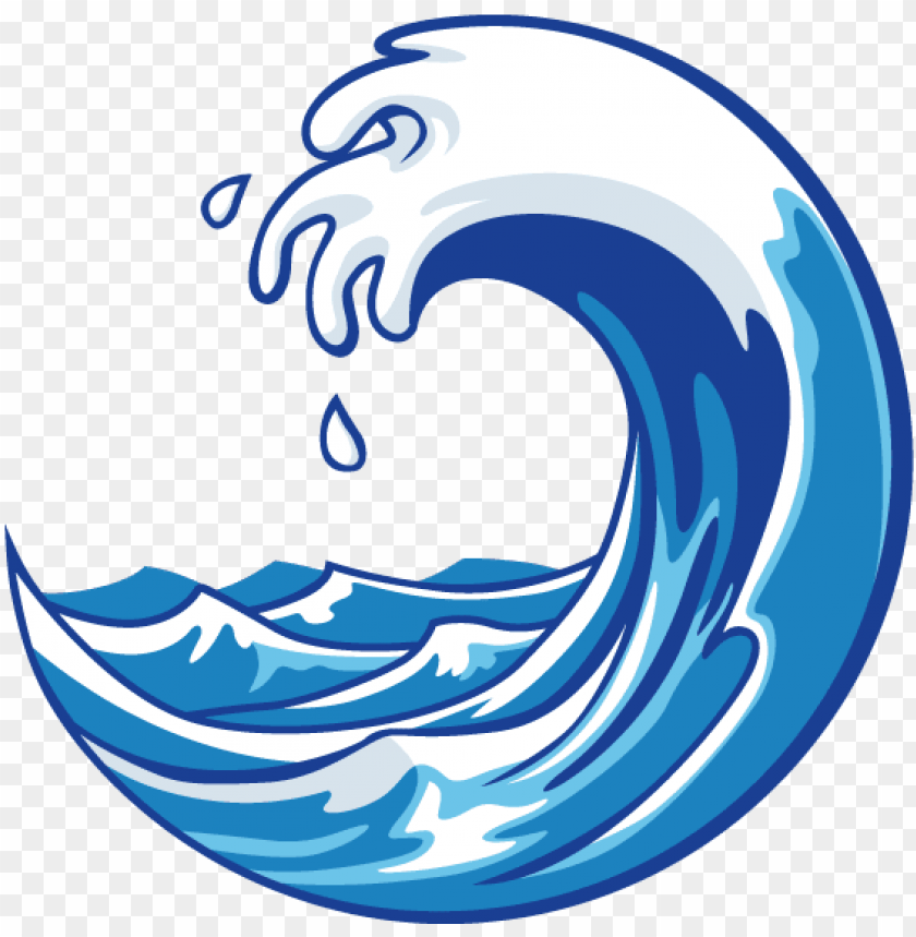 free PNG waves-icon - cartoon ocean wave PNG image with transparent background PNG images transparent