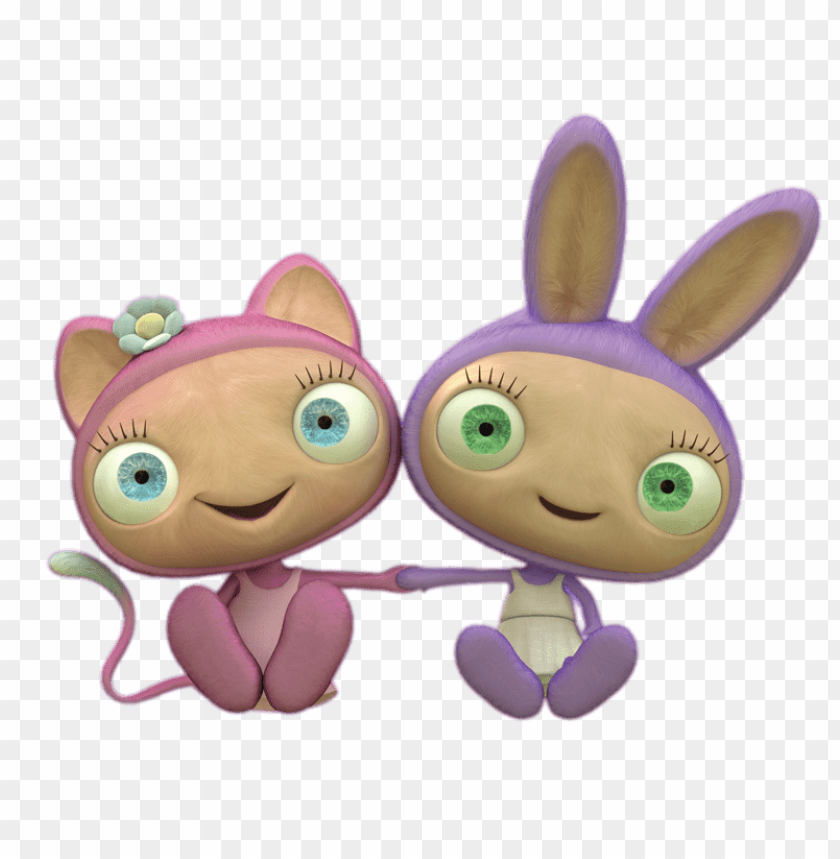 Download Waybuloo De Li And Lau Lau Holding Hands Clipart Png Photo Toppng