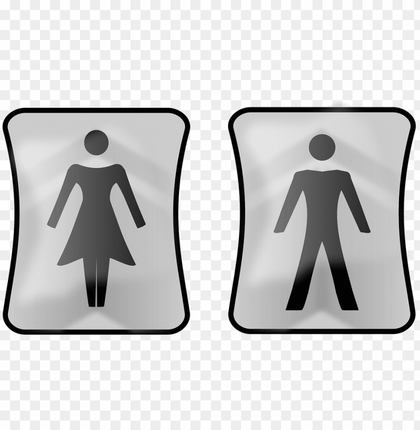 free PNG wc, toilets, piktoramy toilet, sign, male, female - ayaq yolu PNG image with transparent background PNG images transparent