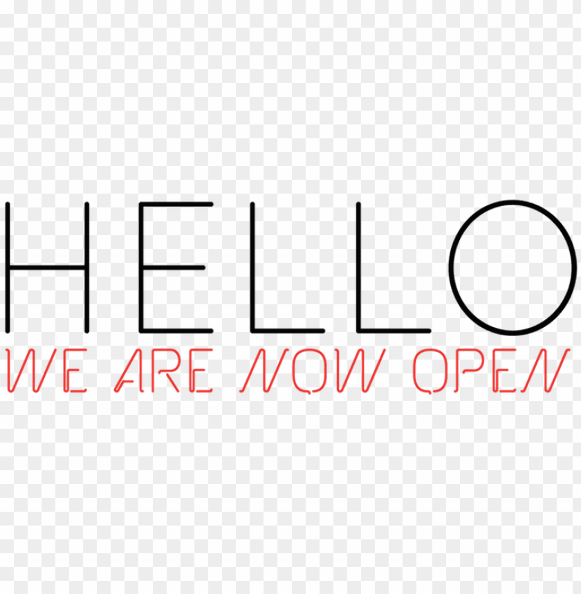 free PNG we are now open - we are open order now PNG image with transparent background PNG images transparent