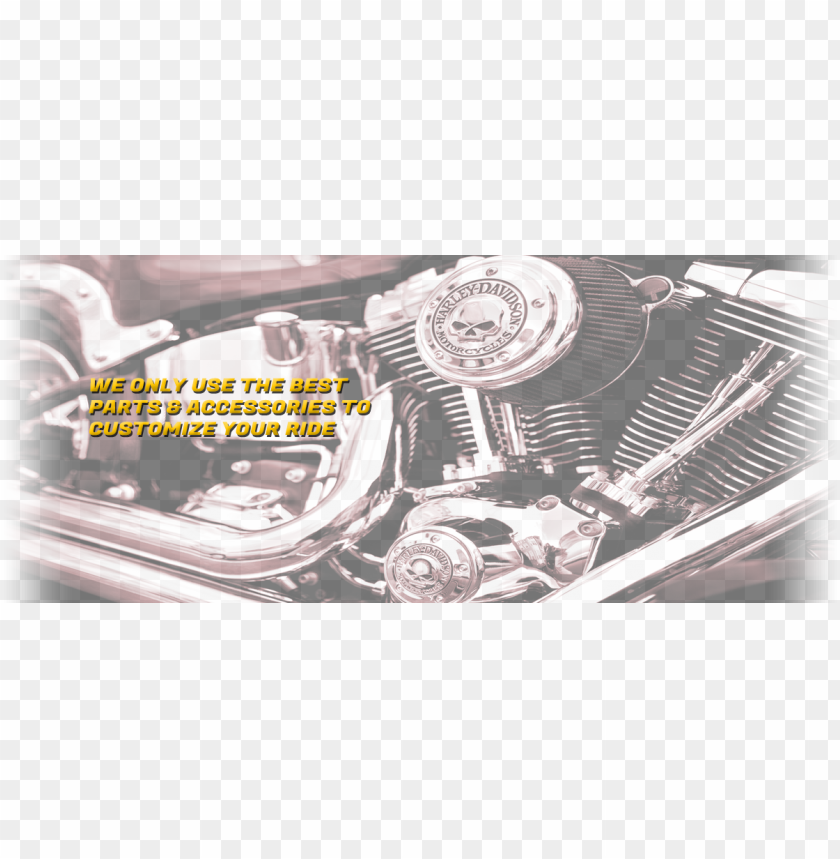 free PNG we only use the best parts & accessories to customize - iron sports custom cycles PNG image with transparent background PNG images transparent