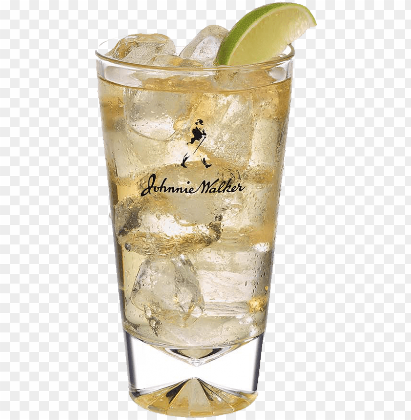 free PNG we recommend johnnie walker black label and soda - johnnie walker tall glass PNG image with transparent background PNG images transparent