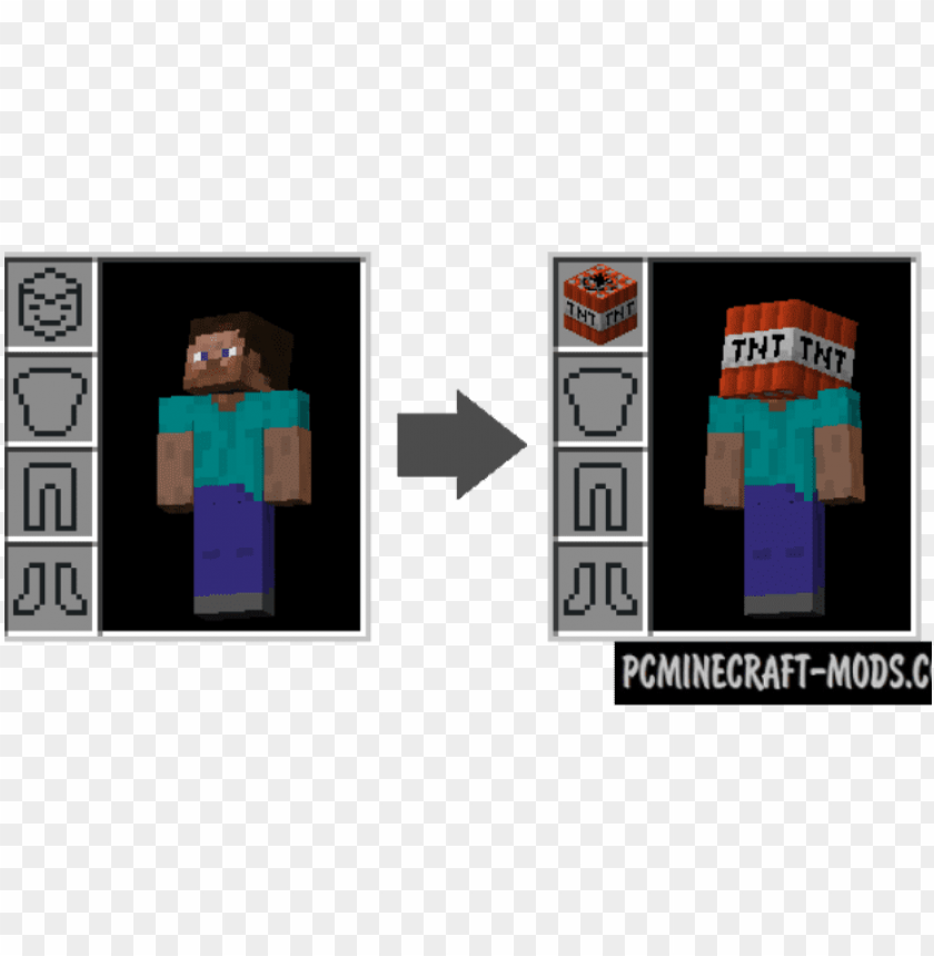 free PNG wearable blocks mod for minecraft - graphic desi PNG image with transparent background PNG images transparent