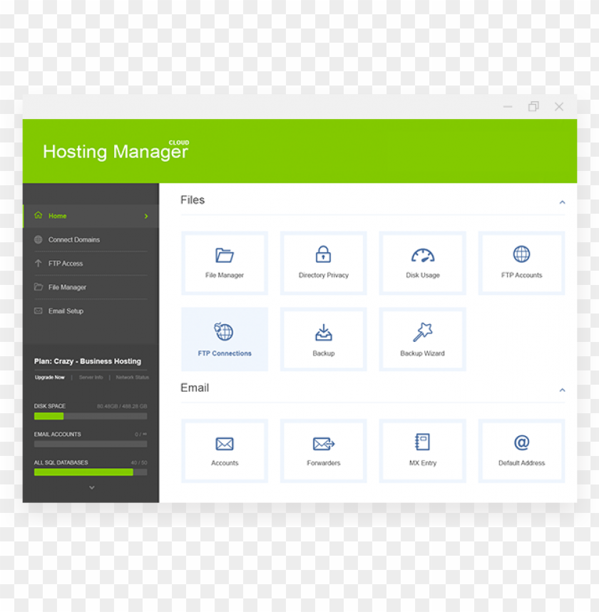free PNG web hosting control panel - crazydomains email hosti PNG image with transparent background PNG images transparent