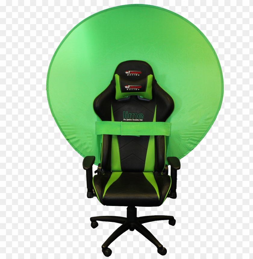 free PNG webaround green screen/privacy screen - gaming chair green scree PNG image with transparent background PNG images transparent