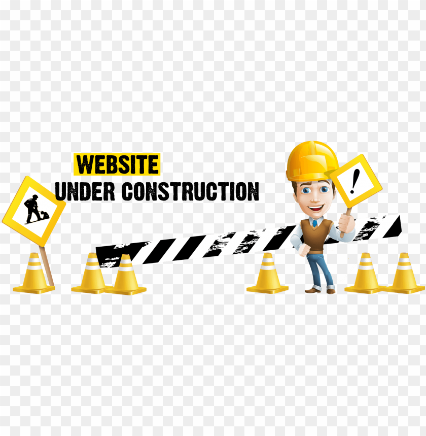 Website Under Construction Png Logo Png Image With Transparent Background Toppng