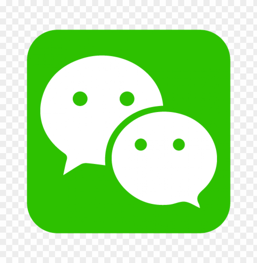 free PNG wechat logo vector PNG images transparent