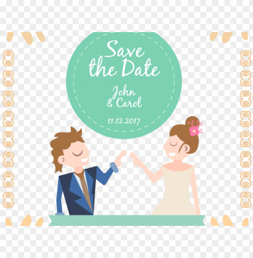 free PNG wedding crown vector freeuse stock invitation techflourish - save the date wedding couple PNG image with transparent background PNG images transparent