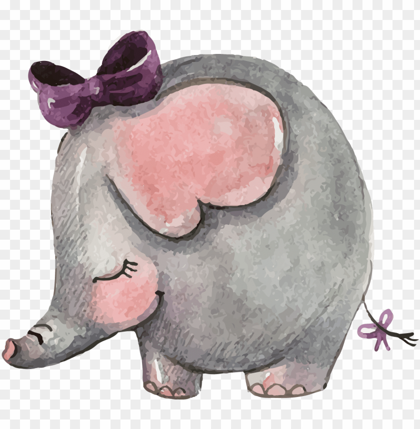 free PNG wedding invitation asian elephant mothers day - baby shower invitation baby animals PNG image with transparent background PNG images transparent