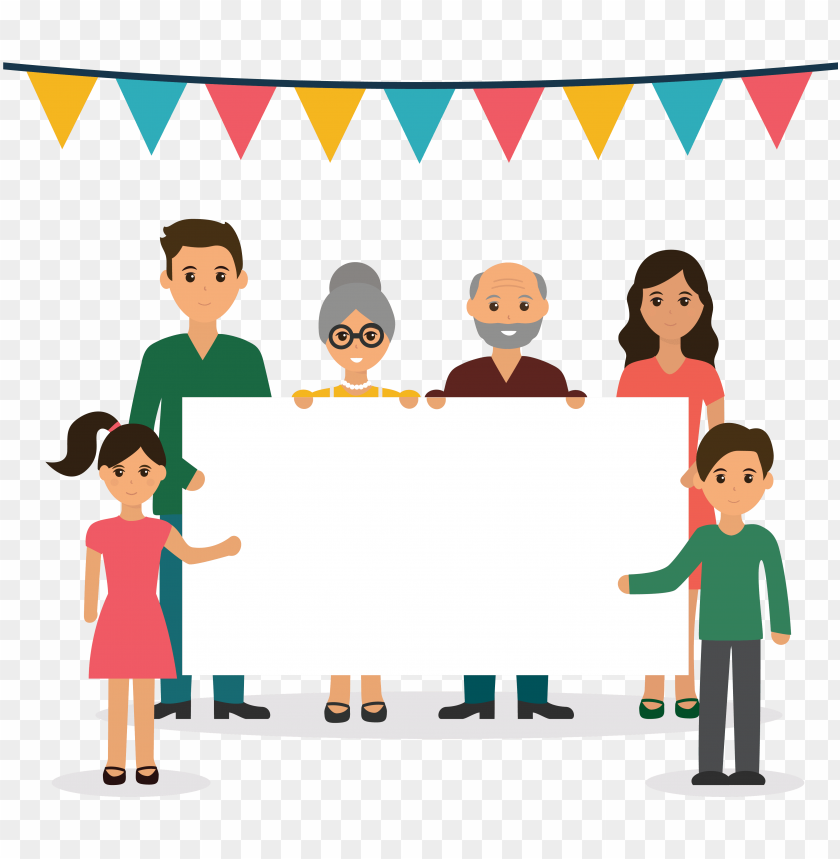free PNG wedding invitation family day child family reunion - clip art family day PNG image with transparent background PNG images transparent