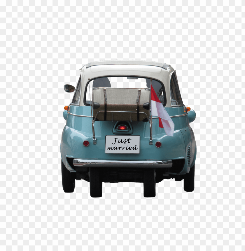 free PNG Download wedding just married on car png images background PNG images transparent