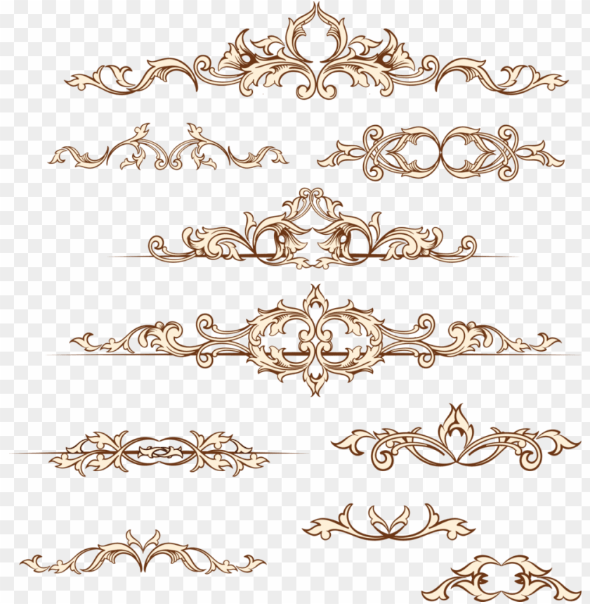 free PNG wedding ornaments flowers png - transparent wedding invitation border PNG image with transparent background PNG images transparent