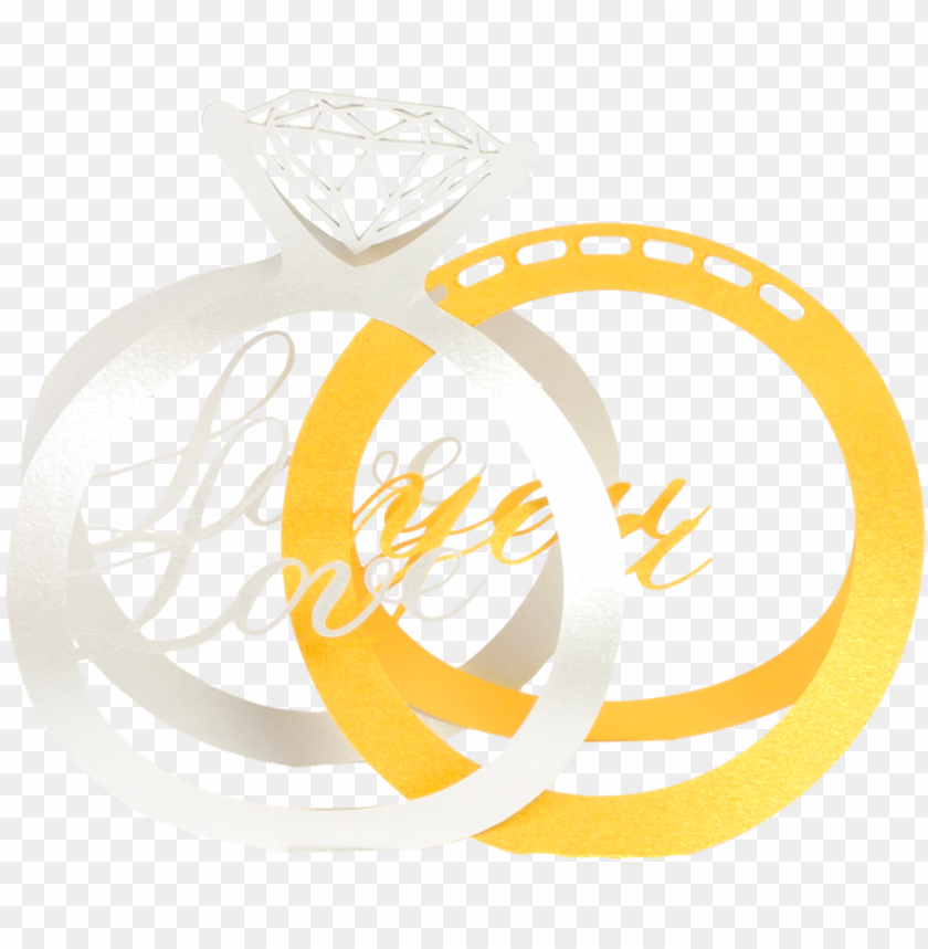 free PNG wedding ring pop up card - circle PNG image with transparent background PNG images transparent