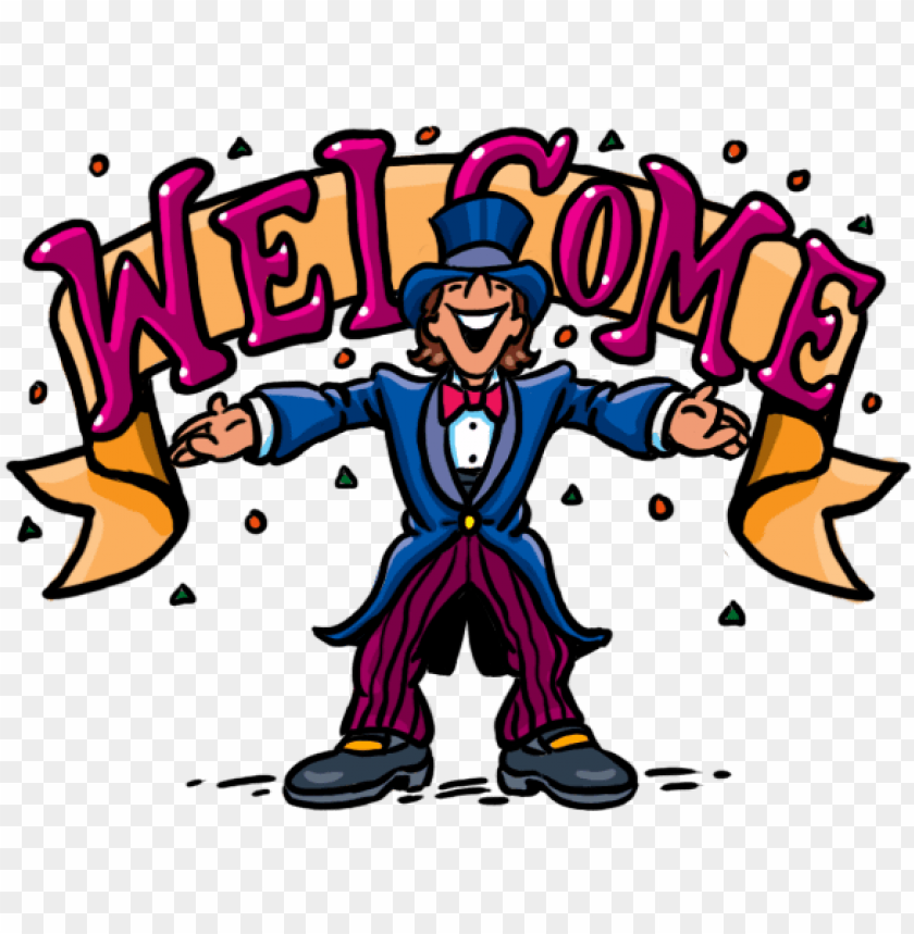 Welcome Cartoon Clipart Home Clip Art Library Welcome Images With Cartoons Png Image With Transparent Background Toppng