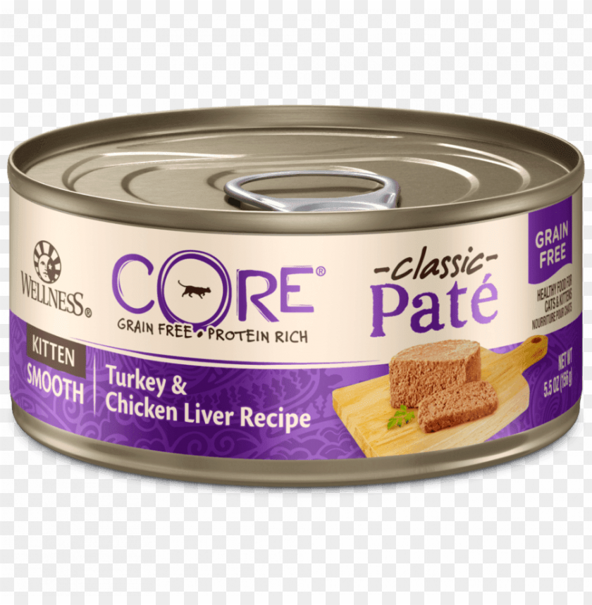 free PNG wellness core natural canned grain free wet pate cat PNG image with transparent background PNG images transparent