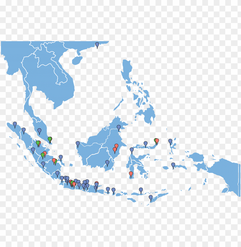 free PNG west indonesia, central, east - weather map south east asia PNG image with transparent background PNG images transparent