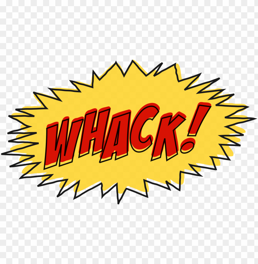 free PNG whack comic book sound effect no background jpg - comic book effect PNG image with transparent background PNG images transparent