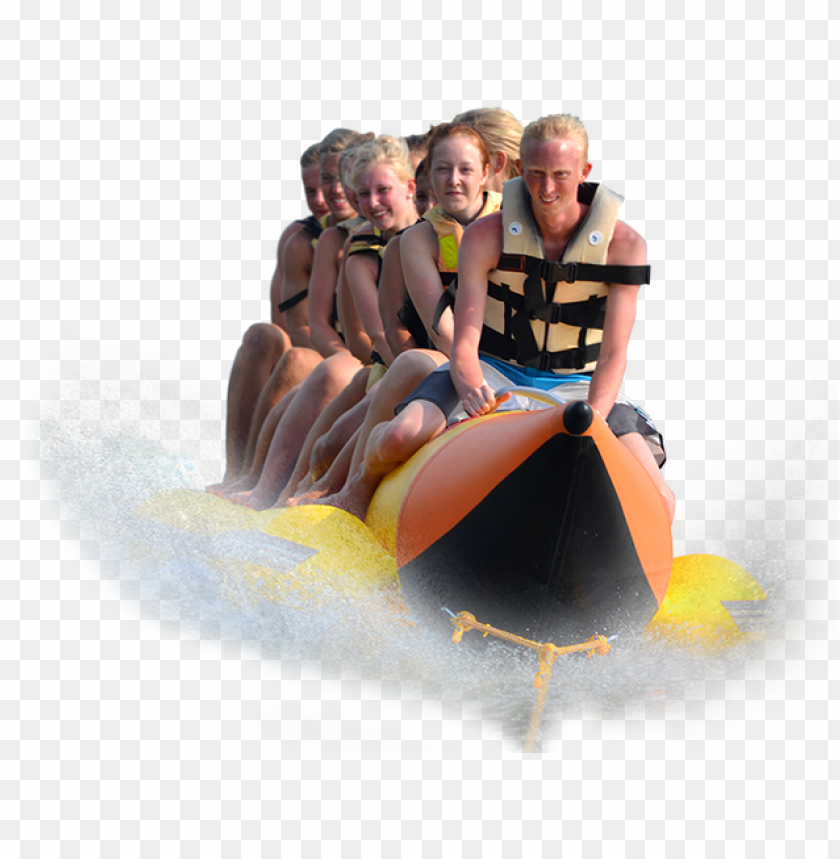 free PNG what we offer ranges from general water activities - banana boating in sri lanka PNG image with transparent background PNG images transparent
