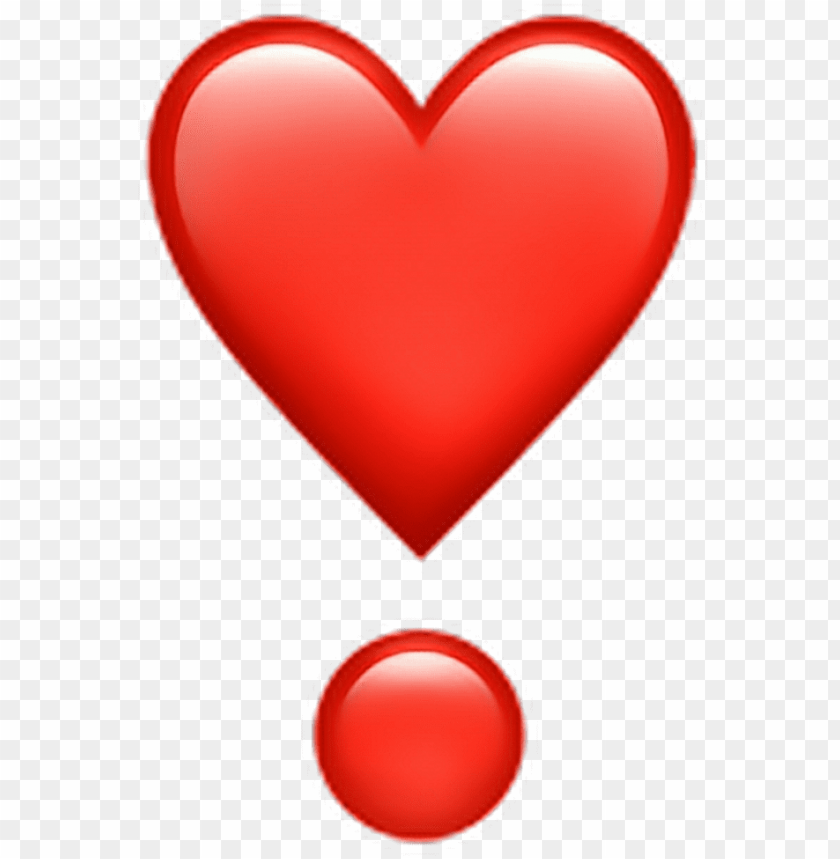 free PNG whatsapp emoji png banner library stock - red heart emoji with dot PNG image with transparent background PNG images transparent
