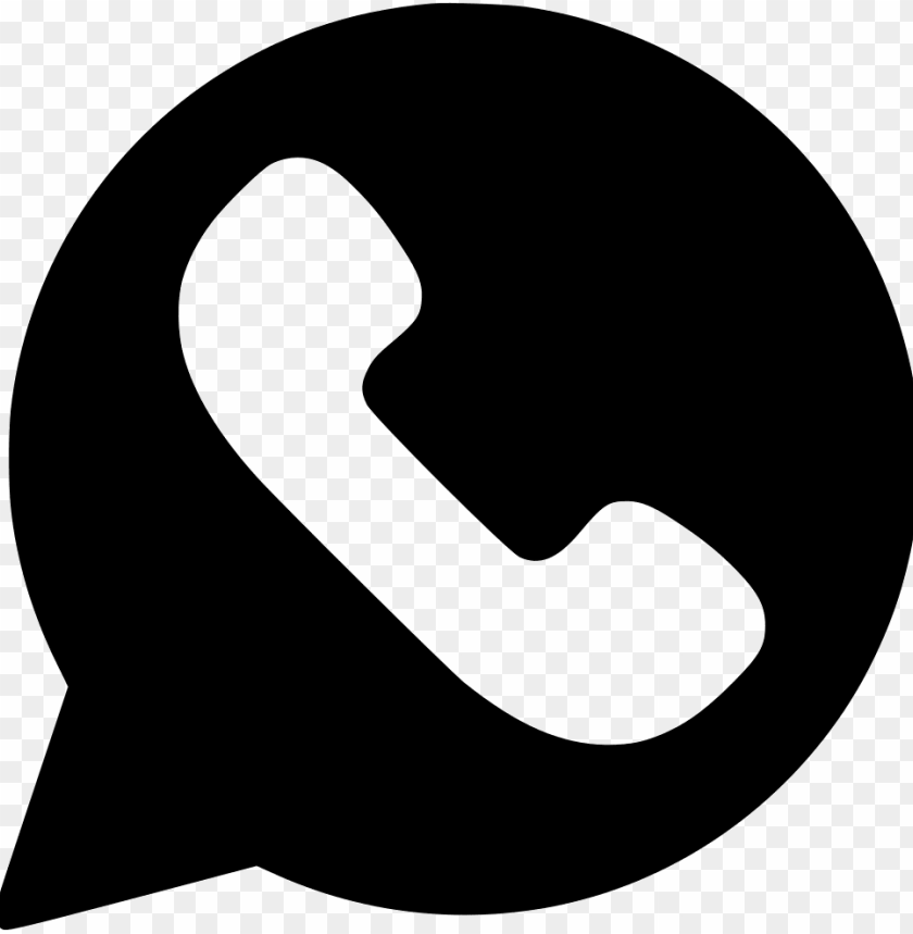 Whatsapp Svg Png Icon Free Download Whatsapp Logo Vector Black