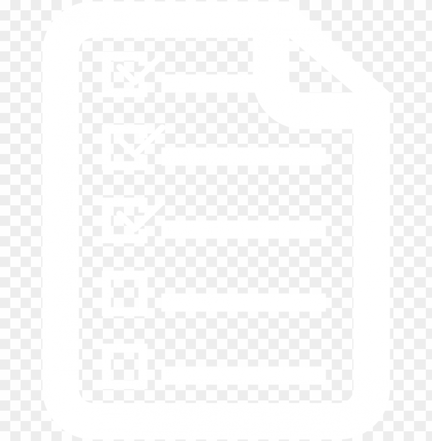 whiotechecklist icon checklist icon png list icon - icon checklist png white PNG image with transparent background@toppng.com