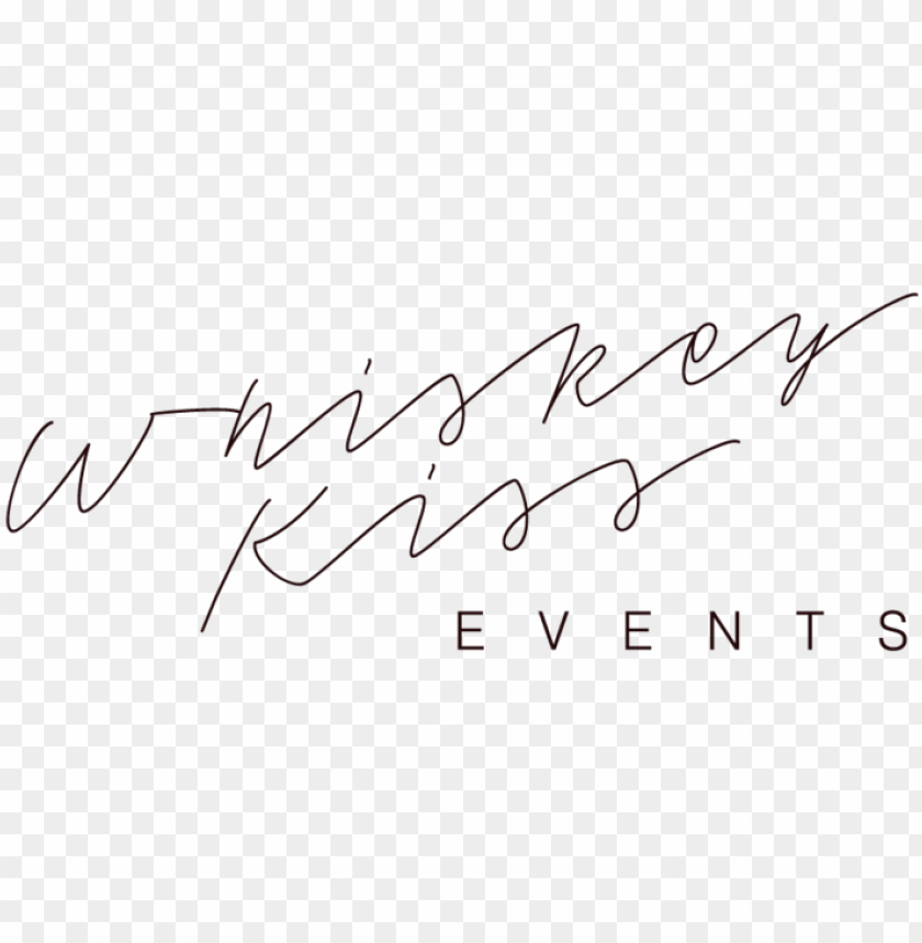 free PNG whiskey kiss events whiskey kiss events is a minnesota - handwriti PNG image with transparent background PNG images transparent
