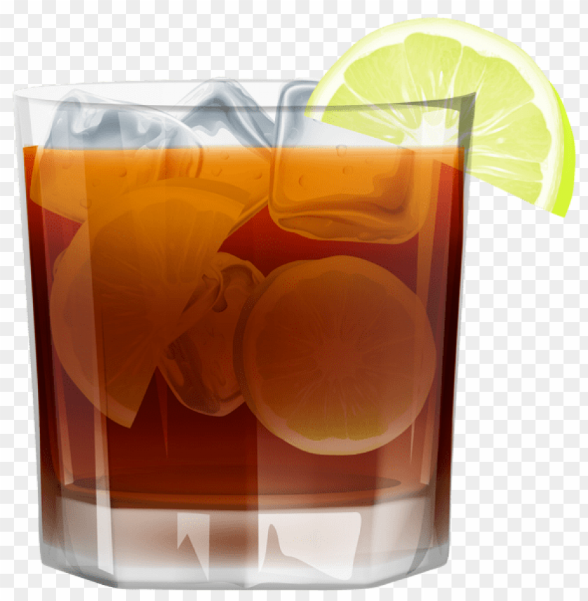 free PNG Download whiskey withice and lemon png images background PNG images transparent