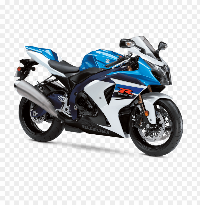 free PNG Download white blue suzuki motorcycle png images background PNG images transparent