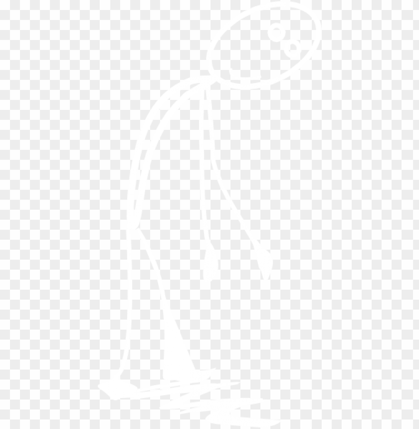 free PNG white chalk stick png download - white stick figure PNG image with transparent background PNG images transparent