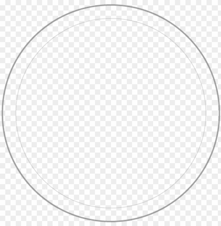 free PNG white circle vector transparent library - thin white circle PNG image with transparent background PNG images transparent
