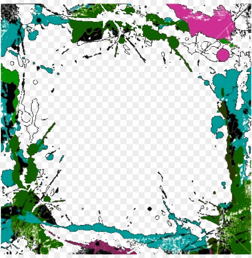 White Grunge Texture Png Free Fall Clip Art Borders Colorful Grunge Border Png Image With Transparent Background Toppng