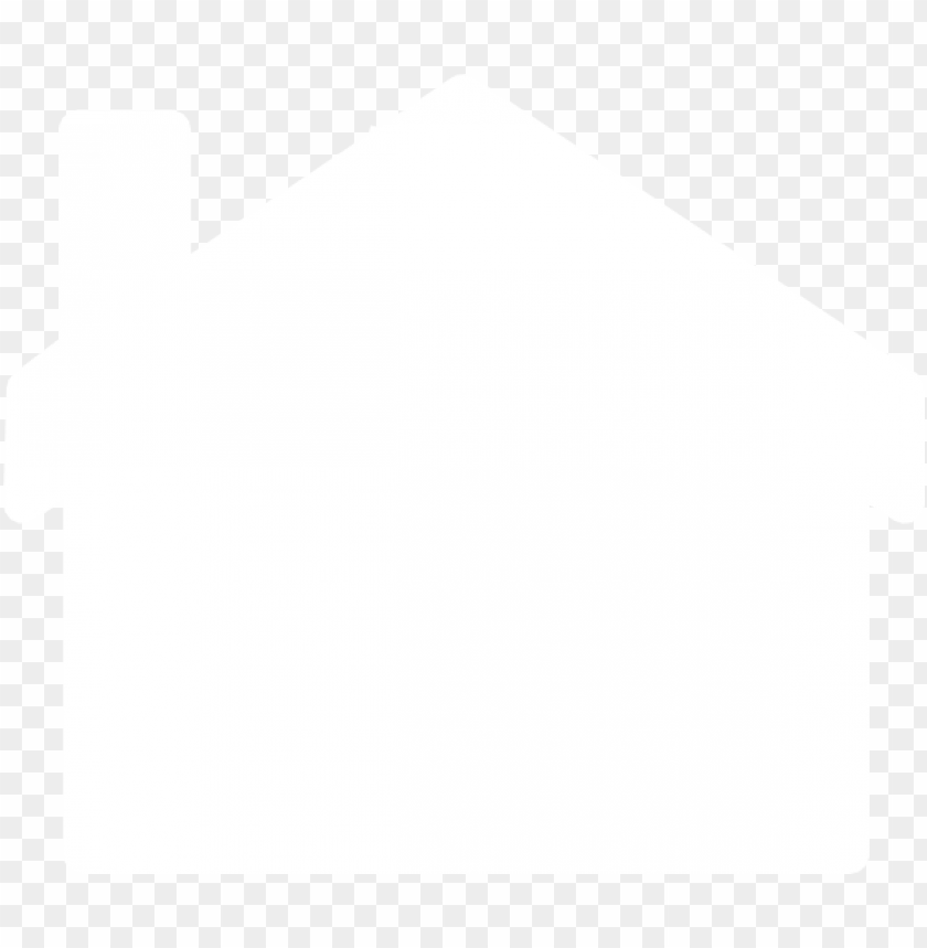 free PNG white outline and fill house clip art at clker - house outline clipart white PNG image with transparent background PNG images transparent
