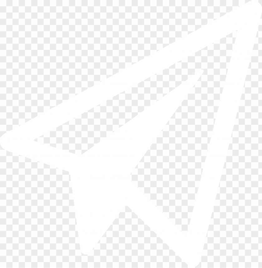 White Paper Airplane Icon Png Image With Transparent Background Toppng