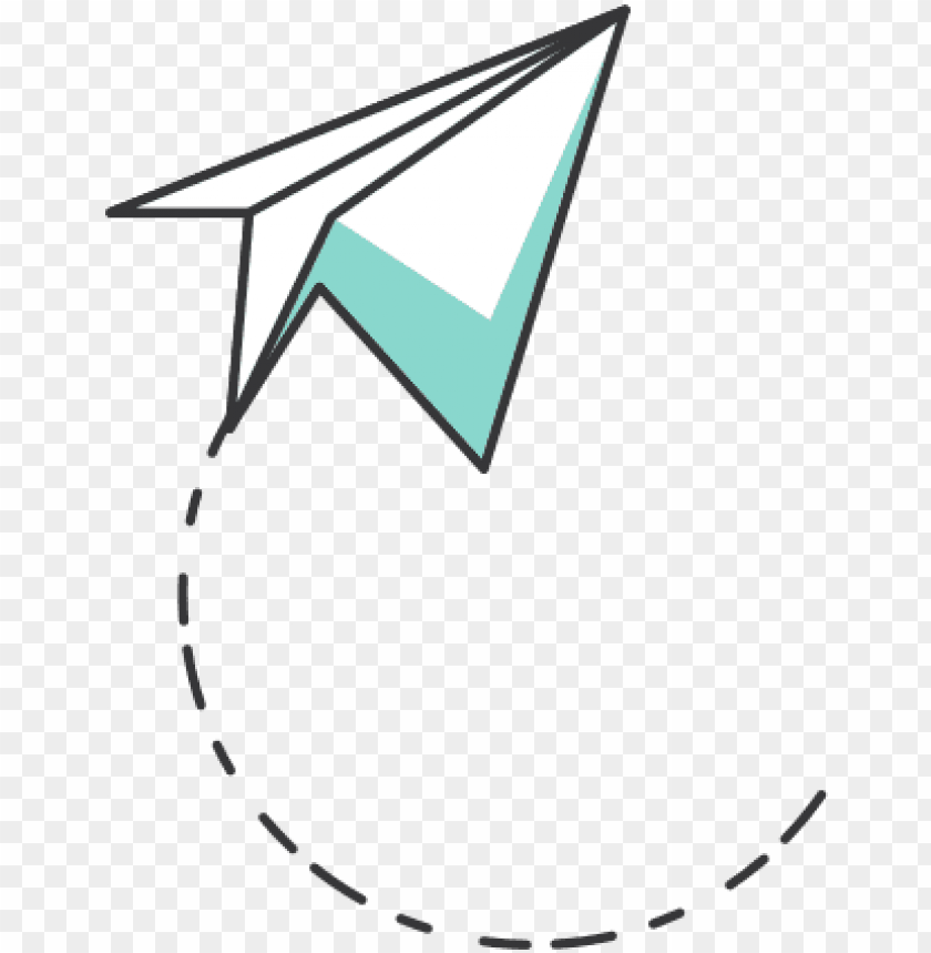 free PNG white paper plane png image - paper airplane free PNG image with transparent background PNG images transparent