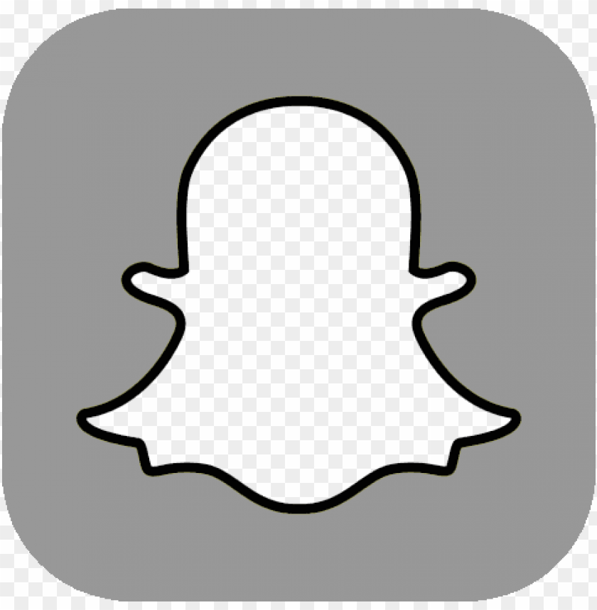 free PNG white snapchat logo  - snapchat icon no background png - Free PNG Images PNG images transparent